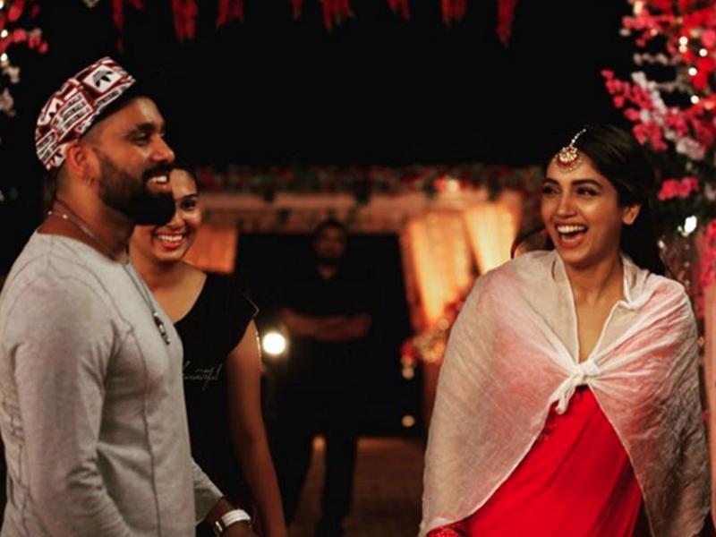 'Pati Patni Aur Woh': Bhumi Pednekar shares BTS video from the song 'Dheeme Dheeme'