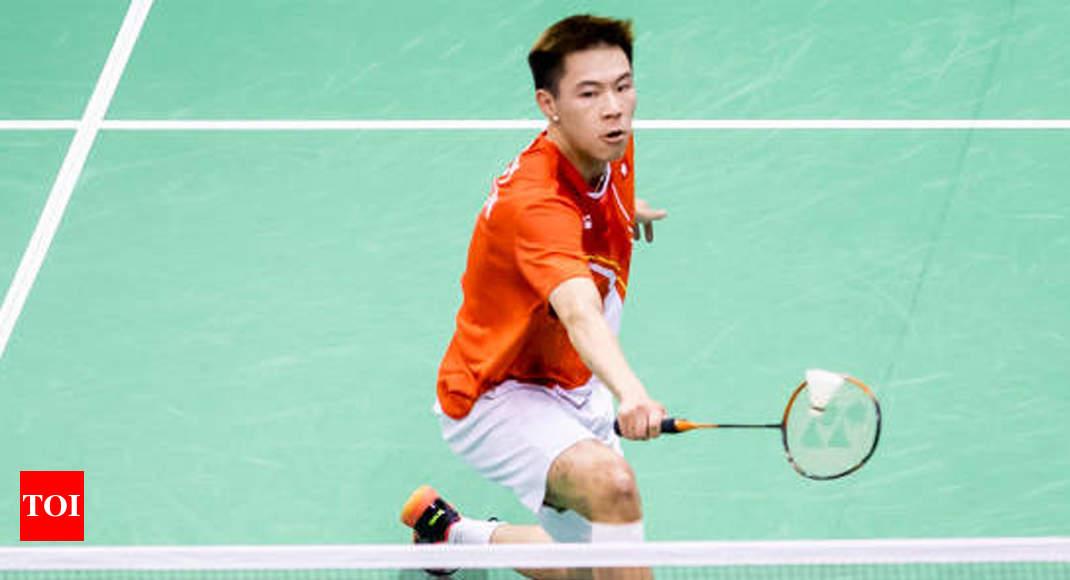 Hong Kong's Lee Cheuk Yiu wins home badminton title - Times of India