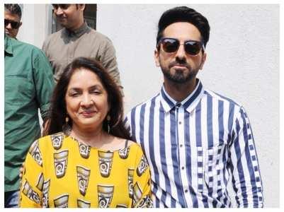 Neena Gupta is all praise for Ayushmann