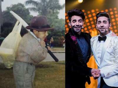 Photo: Ayushmann wishes Aparshakti on his bday