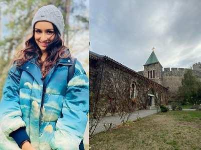 Shraddha explores Serbia while filming Baaghi 3