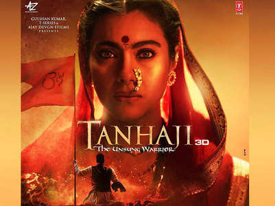 'Tanhaji': Ajay unveils Kajol's first look