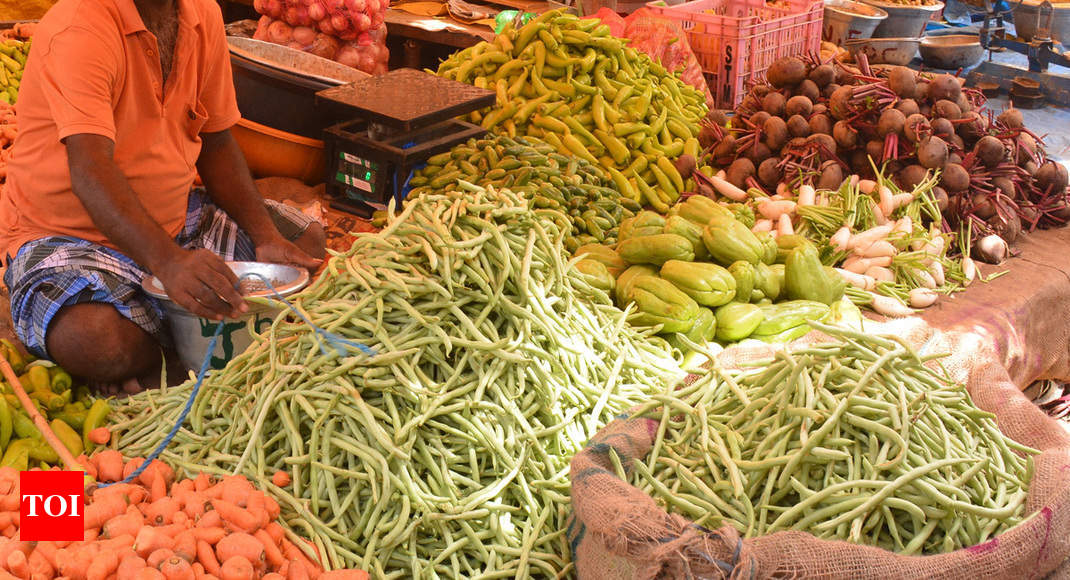 Goa gets respite from rain, but not high veggie prices - Times of India