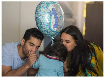 Neha's adorable bday post for daughter Mehr