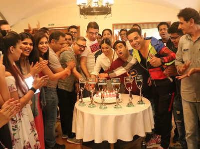 Krushna, Sumona, Kiku celebrate TKSS' win