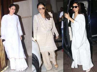 Aishwarya, Gauri, Kareena visit Manish Malhotra