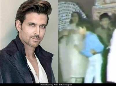 Hrithik Roshan's throwback dancing video