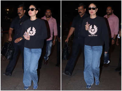 Bebo stuns in cool and trendy airport look