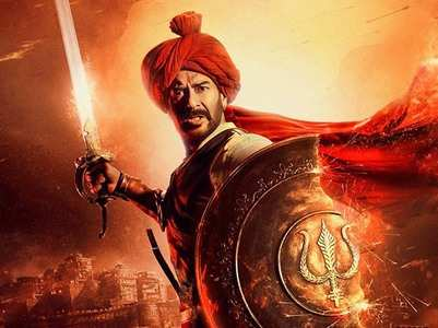 Ajay shares another fierce Tanhaji poster