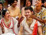 Unseen pictures from Priyanka Chopra and Nick Jonas's haldi ceremony