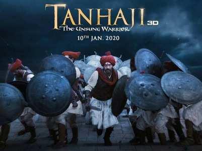 'Tanhaji-The Unsung Warrior' trailer out