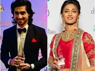 Erica-Harshad win big at an award function