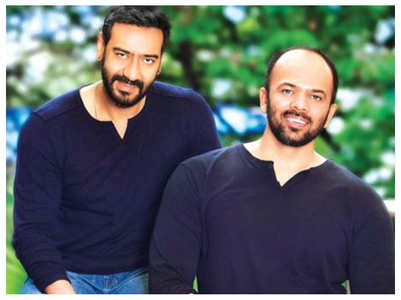 Rohit pays tribute to Ajay on his 100th film