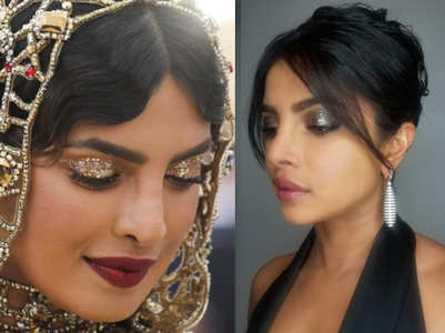 How to wear glitter eye make-up like PeeCee