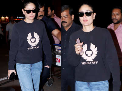Guess the price of Kareena Kapoor Khan's navy sweatshirt