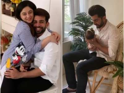 Jay, Mahhi's baby girl's first photoshoot