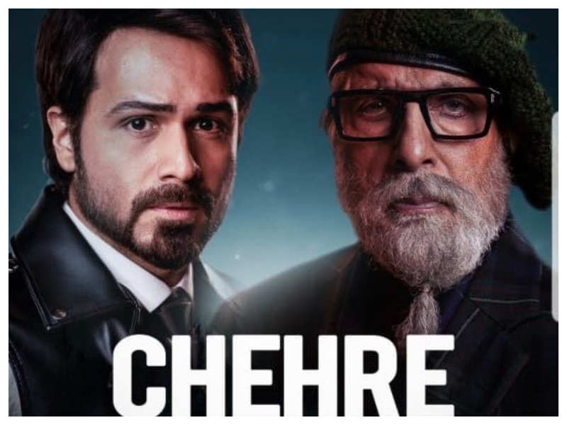 Chehre' new poster: The Emraan Hashmi and Amitabh Bachchan starrer to now release on April 09, 2021   Hindi Movie News - Filmi Keeda Review