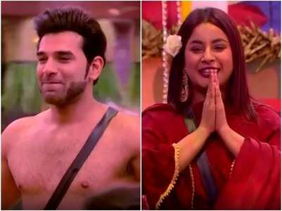 BB13: Paras goes shirtless to woo Shehnaz