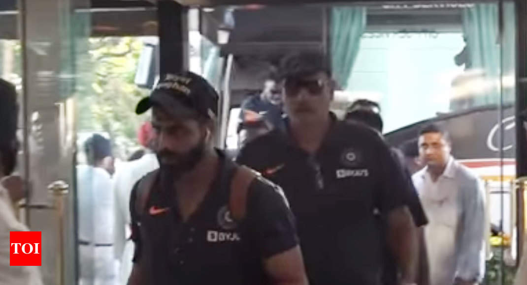 India vs Bangladesh, Pink Ball Test: Team India arrives in Kolkata