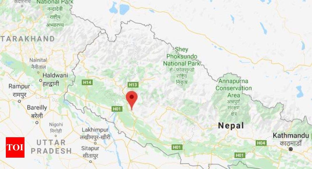 Earthquake in Delhi Today: Earthquake hits Nepal, tremors felt in Delhi, Lucknow | India News - Times of India