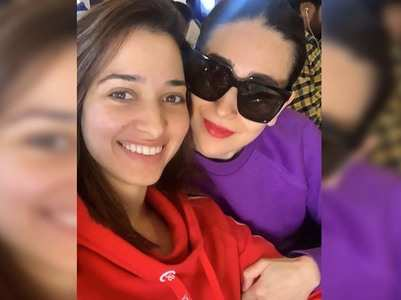 Tamannaah shares a sweet note for Karisma