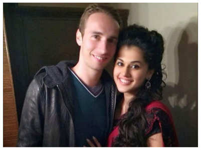 Taapsee Pannu on her boyfriend Mathias Boe