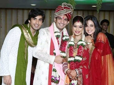 Arjun's unseen wed pic with Neha Swami