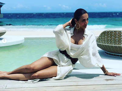 10 pics that prove Malaika is the beach babe