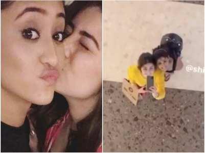 BFFs Shivangi and Aditi enjoy movie date