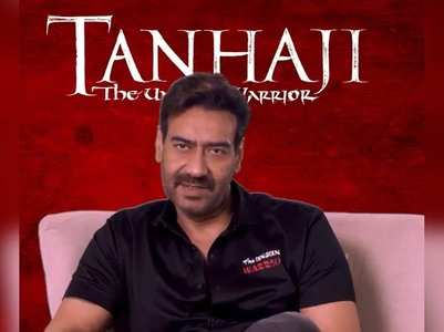 Tanhaji trailer: Ajay thanks the audience!