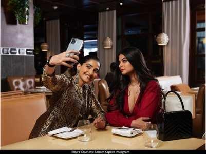 Sonam enjoys a dinner date with Rhea in LA