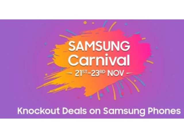 Samsung Carnival on Flipkart: Offers on Galaxy Note 10, Galaxy S10, Galaxy A50 and more