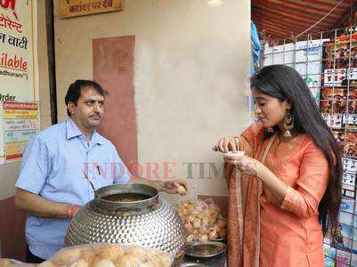 When Shivangi Joshi made jalebi in Indore
