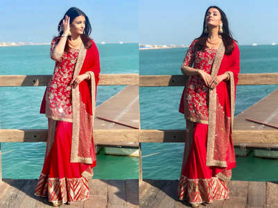 5 red outfits every bride must bookmark