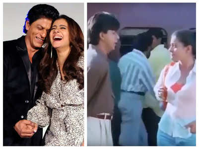 Kajol made a cameo in SRK's 'Duplicate'?