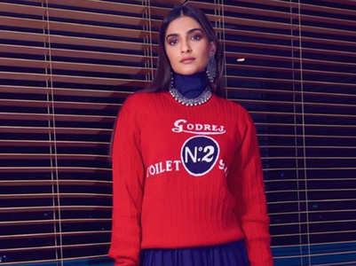 Sonam Kapoor just showed us a stylish new way to wear a sweater!