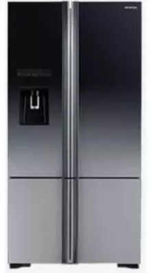Hitachi R-WB800PND6X 697 Ltr Side-by-Side Refrigerator