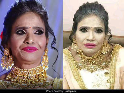 "Ranu's make-up artist calls viral pic ""fake"""