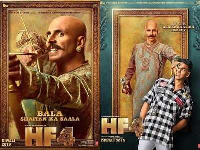 Akshay's 'Housefull 4' beats 'Mission Mangal'