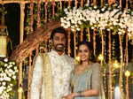 Stars make a beeline to wish newly-weds Rishi and Swathi