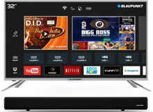 Blaupunkt 80cm (32-inch) HD Ready LED Smart TV with External Soundbar(BLA32AS460)