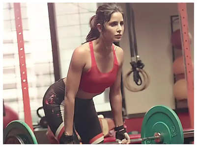Katrina shares her workout routine