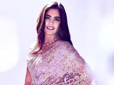 Isha Ambani's stylish blouses are just what you need this wedding season!