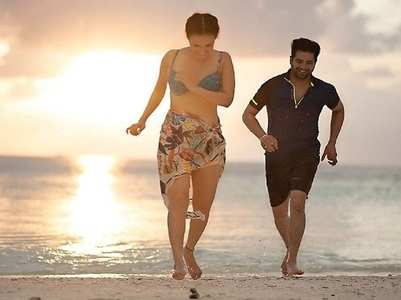 Karan Mehra and his wife unwind in Maldives