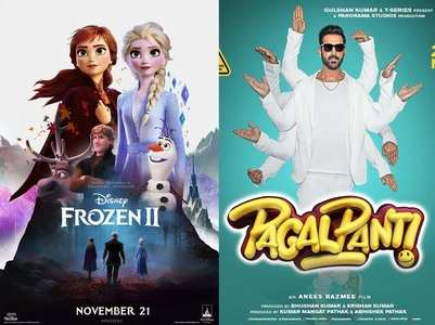 Frozen 2 overtakes Pagalpanti at the theatres!