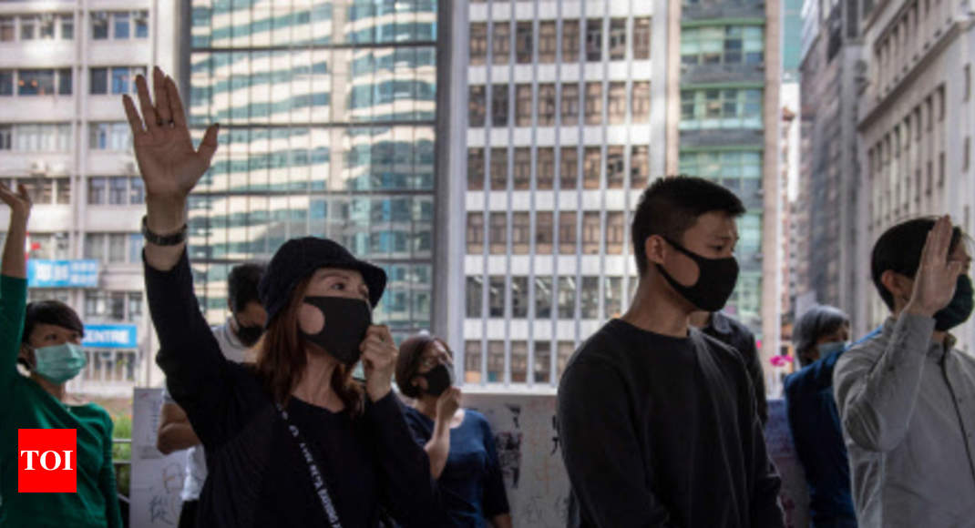 Hong Kong court reinstates mask ban ahead of local elections