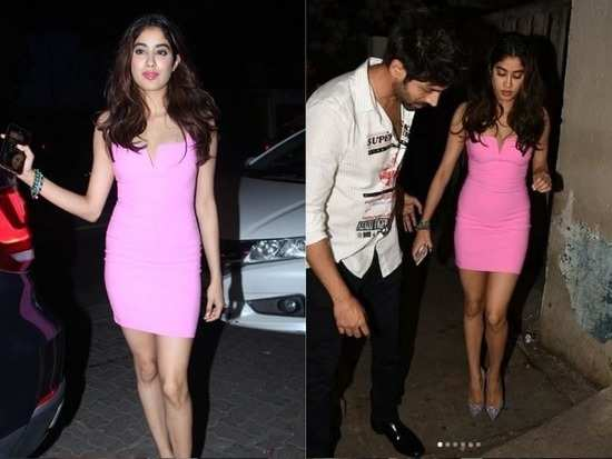 Janhvi Kapoor's bodycon dress is perfect for your next party night!
