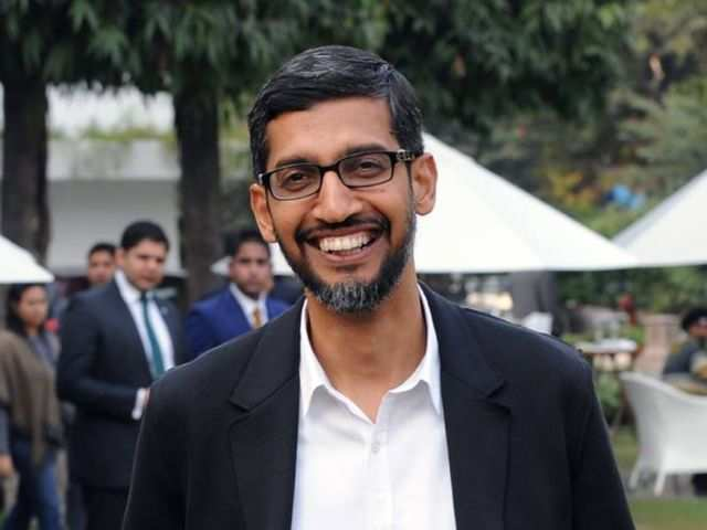 Google CEO Sundar Pichai is inspired by a woman who scored a 0 in her physics exam