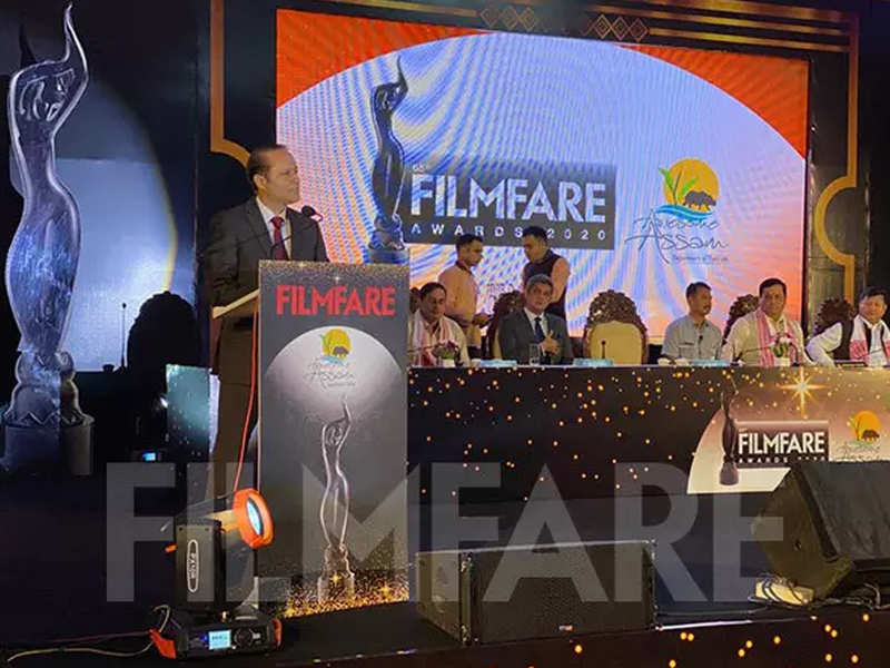 Assam government joins hands with Times of India Group to host the 65th Filmfare Awards in Guwahati
