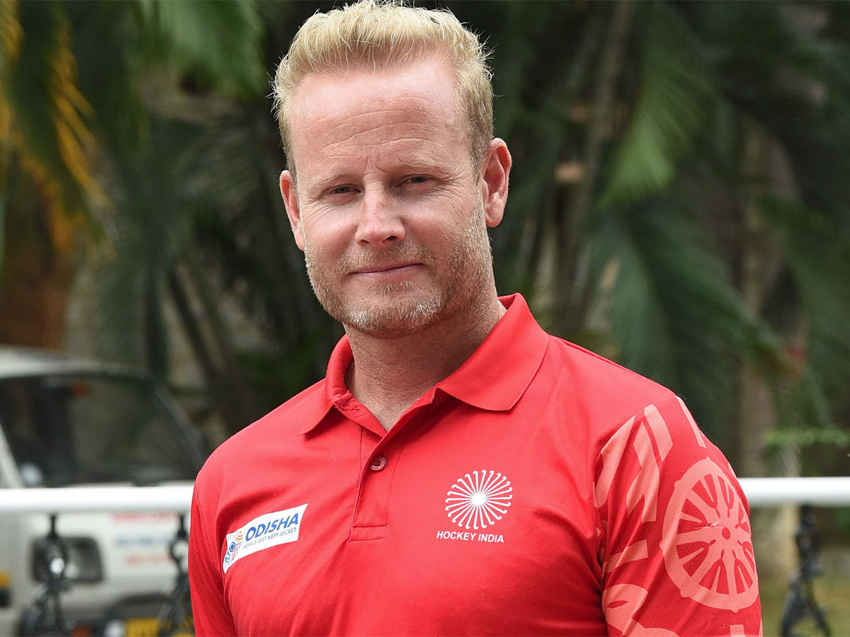 The respect a player has for a coach in India is very huge: Sjoerd Marijne | Hockey News - Times of India